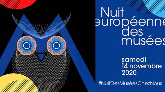 Nuit Européenne des Musées 2020 en numérique