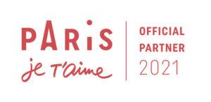 Paris je t'aime - official partner 2021 - partenaire officiel 2021