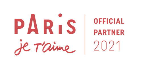 Paris je t'aime - official partner 2021 - partenaire officiel 2021