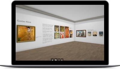visite autonome dans un musée virtuel